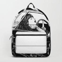 asc 432 - Le bolide noir (Never go into a black car) Backpack