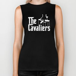 Godfather Cavs (White) Biker Tank