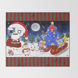 BT21 Christmas! Throw Blanket