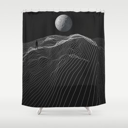 Equal Night Shower Curtain