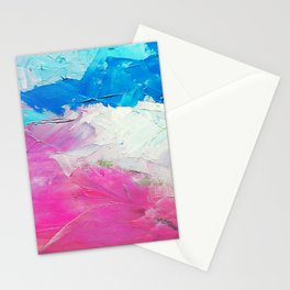 Colorful Oil Painting Stationery Cards
