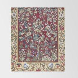 "William Morris ""Tree of life"" 2. Throw Blanket"