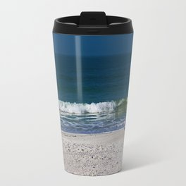 The Sandpiper and the Sea Travel Mug