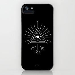 The Eye Sacred Geometry iPhone Case