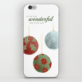 Wonderful Christmas iPhone Skin