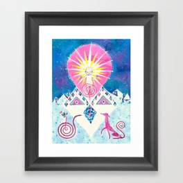 Sun of God Framed Art Print