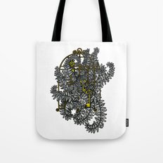 Jailed fern Tote Bag