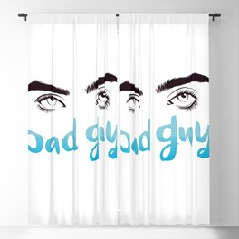 Bad Guy Blackout Curtain