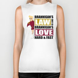 Brannigan's Law Biker Tank