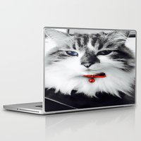 kiki Laptop & iPad Skins featuring Mr. Kiki by  Naartjie Photography