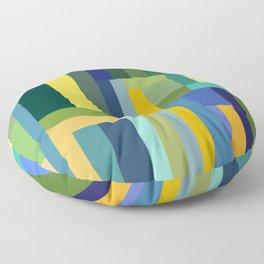 Forest Green Floor Pillow