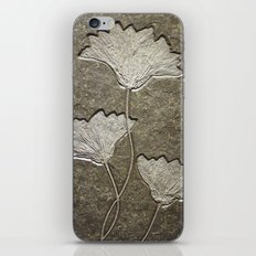 Fossil Flowers iPhone & iPod Skin