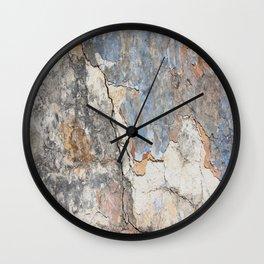 Flaking Weathered Wall rustic decor Wall Clock