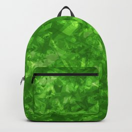 Dark pastel variegated green stars in the projection. Backpack