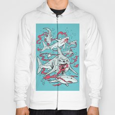 SHARKS AFTER LUNCH Hoody