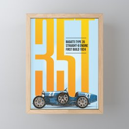 35T Tribute Framed Mini Art Print