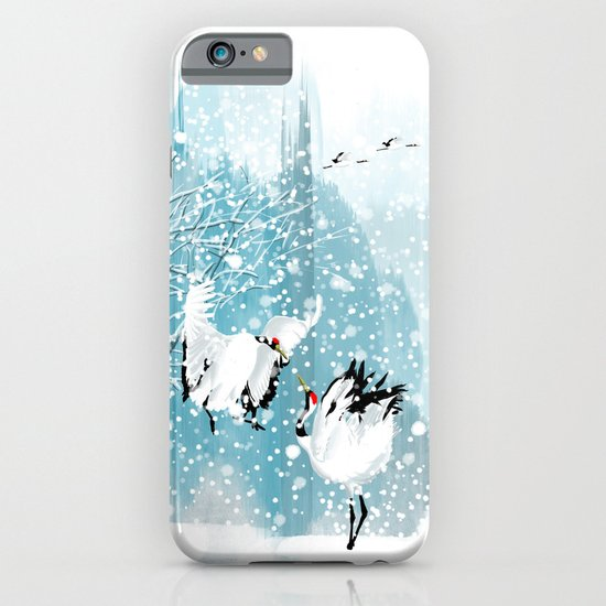 Dancing in the snow iPhone & iPod Case