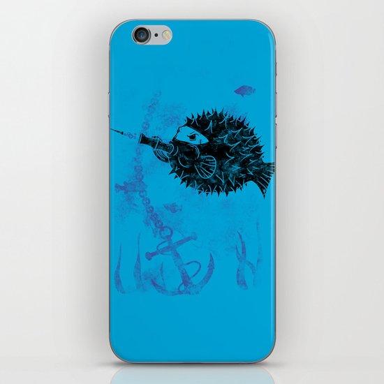 Blowgun Fish iPhone & iPod Skin