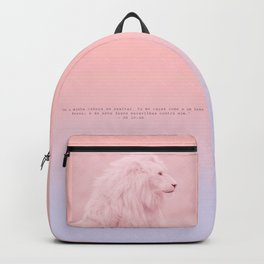 Greater than the Mighty Lion Backpack