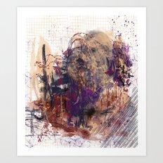 Deaths Reflection Art Print