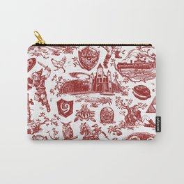 """Zelda """"Hero of Time"""" Toile Pattern - Goron's Ruby Carry-All Pouch"""