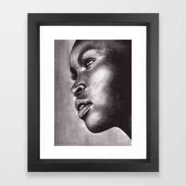 Light In Her Eyes  Framed Art Print