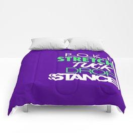 POKE STRETCH TUCK DROP STANCE v2 HQvector Comforters