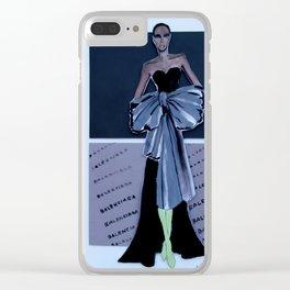 Paris Fashion Week Clear iPhone Case
