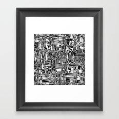 a sense of community Framed Art Print