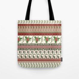 Mistletoe Ugly Sweater Tote Bag