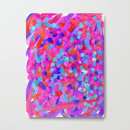 ML(A) Abstract Painting Metal Print