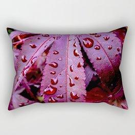 Lingering Rain Rectangular Pillow