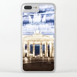 BERLIN Brandenburg Gate | In Detail Clear iPhone Case