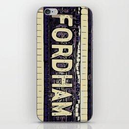 Fordham iPhone Skin