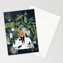 dark room print Stationery Cards