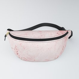 Red Marble Fanny Pack
