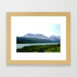 EARTH, WATER, AND SKY Framed Art Print