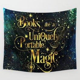 Books Are a Uniquely Portable Magic Wall Tapestry