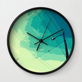 LIGHTPOLE Wall Clock
