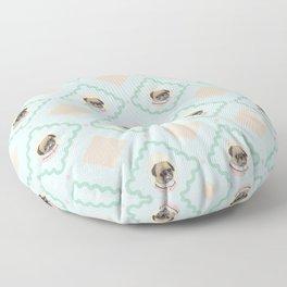 Sra. Pug Floor Pillow