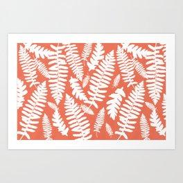 White Ferns Art Print