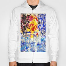 Abstract painting  - Sunset over The Sea Hoody