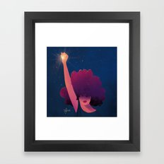 Black Girls are Magic Framed Art Print