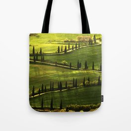 Cypresses Alley Tote Bag