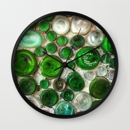 While You Were Watching TV Wall Clock