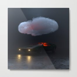 Alfa Cloud Metal Print