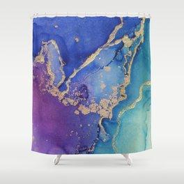 Golden Ocean - Part 1 Shower Curtain
