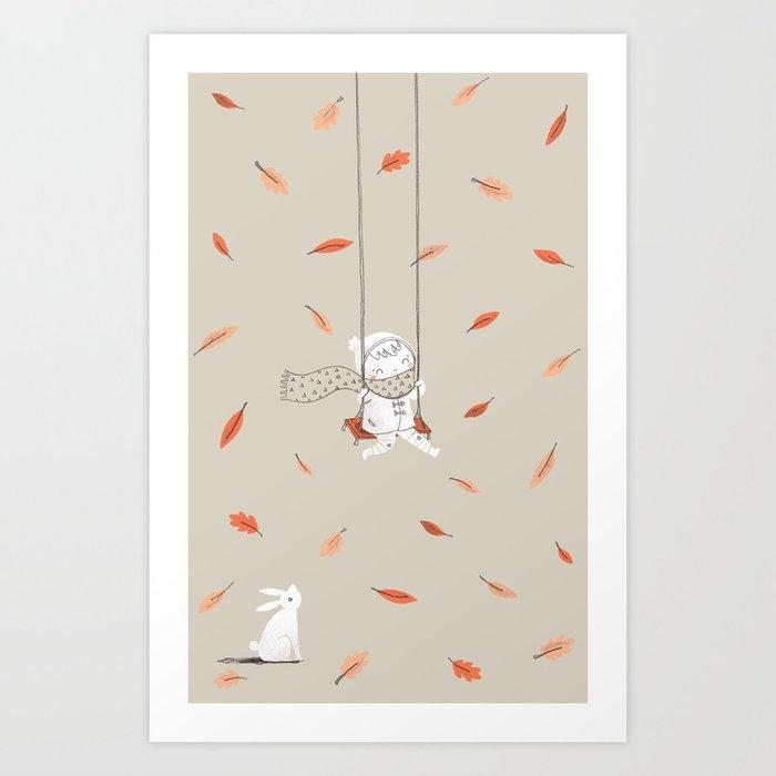 Het Prullalamonster print #1 Art Print