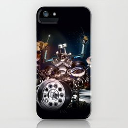 Drum Machine - The Band's Engine iPhone Case