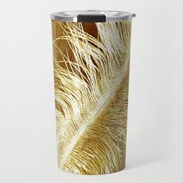Golden Ostrich Travel Mug